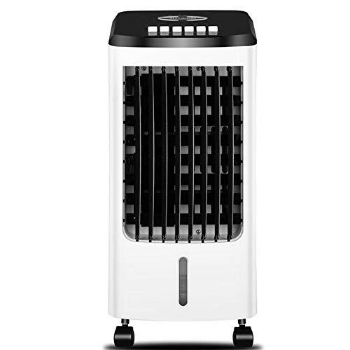 TTIK Climatizador Evaporativo con Mando A Distancia, 70W, Función Purificación De Aire,3 Modos Y 3 Velocidades,Depósito 5 L, 5 Cajas Hielo para Hogar Y Oficina,5 Cajas Hielo