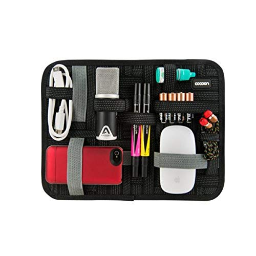 Cocoon 11' Grid-IT! - Accessorio Organizador, Espacio para Tablet o iPad hasta 8' - Negro