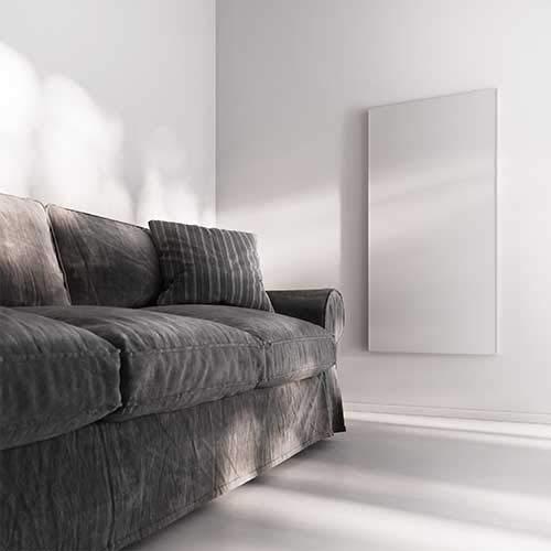 heatness Infrarotheizung VCIR-800 heatness Simpel Wand XL, 800W, Weiß