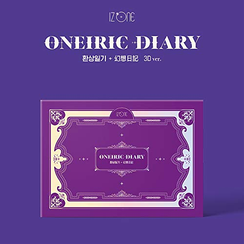 Off The Record IZONE - Oneiric Diary [3D ver.] Album+Folded Poster+Extra Photocards Set
