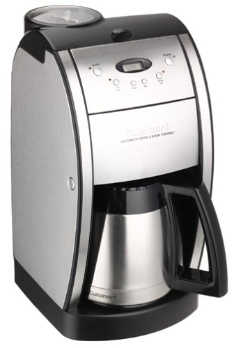 Cuisinart DGB-600BC Grind & Brew, Brushed Chrom