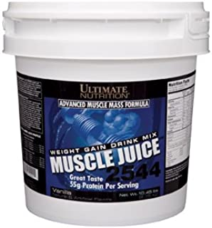 Ultimate Nutrition Muscle Juice 2544 Classic Gainer Protein (Vanilla, 13 Pounds)