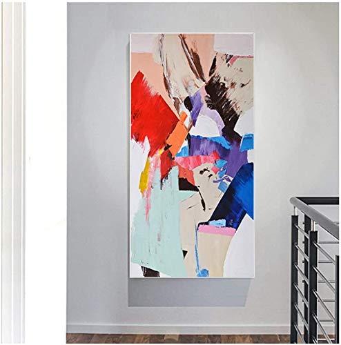 quadri moderni soggiorno sul rosso Surfilter Stampa su Tela Quadri Astratti Colorati Pittura su Tela Wall Art per Soggiorno Decorazione Moderna Pittura Domestica 11