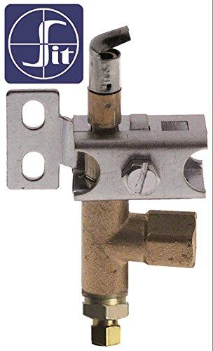 SIT Serie 100 Zündbrenner für Fryland Lt15+15g-ce, MBM-Italien C6AV70 für Gasherd, Fritteuse 1-flammig Bohrung ø 0,2mm