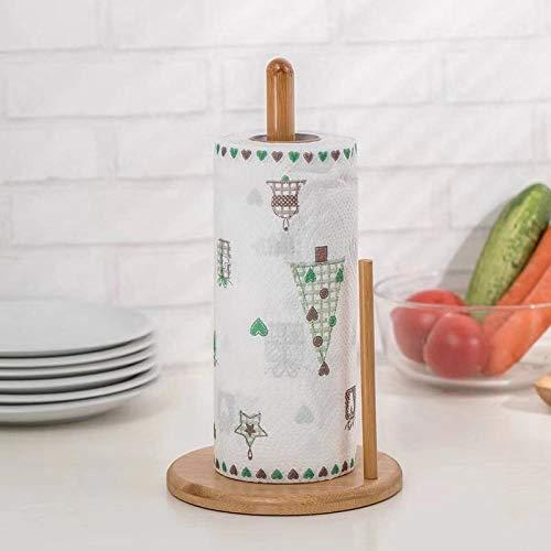 Keukenrolhouder Papier Bamboe Keukenrolhouder, 35 cm B
