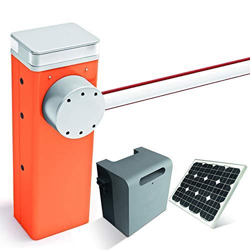 BAUER - Solar-Set Schranke MBAR (30Watt) mit Schrankenbaum 3m