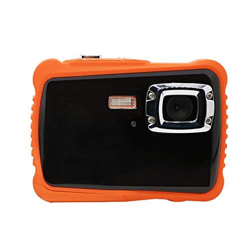 HFM Kinder Digitalkamera 12 Millionen Pixel 2,0 Zoll TFT HD-Bildschirm 4-Fach Zoom 3 m Stärke Wasserdicht Staubdicht Fallschutz Tauchen Digitalkamera,Schwarz