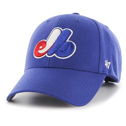 '47 Gorra MVP Montreal Expos Classic by Brand de baseballcurved Brim Cap...
