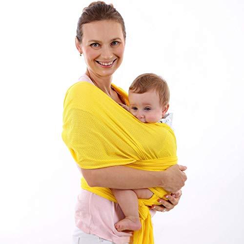WB0002 portabebés para recién nacidos, envoltura suave y transpirable para lactancia materna