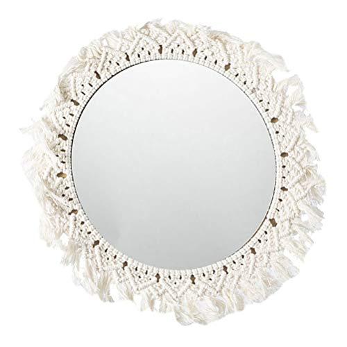 Espejos Pared Decorativos Macramé espejos pared  Marca Angoily