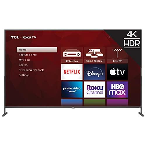TCL 85-inch Class 4-Series 4K UHD HDR Smart Roku TV - 85S435, 2021 Model , Black