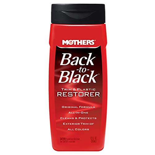 Mothers 06112 Back-to-Black Trim & Plastic Restorer, 12 fl. oz.