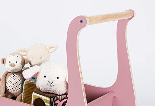 Pinolino 269402 Puppenwagen 'Mette', rosa