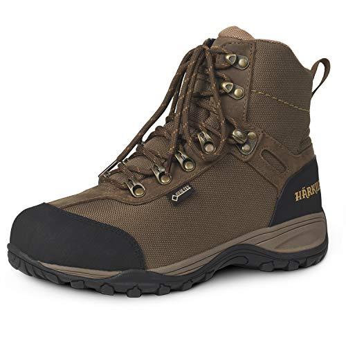 Botas de trekking impermeables para mujer Wildwood GTX marrón con membrana Gore-Tex, botas de trekking ligeras para mujer con refuerzos, color Marrón, talla 42 EU