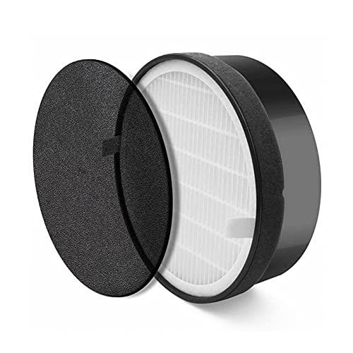 XIAOFANG Luftreiniger Ersatzstaubrauchgeruchsfilter für LV-H132 LV-H132-RF (Color : Black)