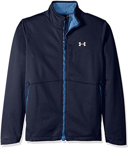 Under Armour Men's Storm Softershell Jacket, Midnight Navy (410)/Overcast Gray, Medium