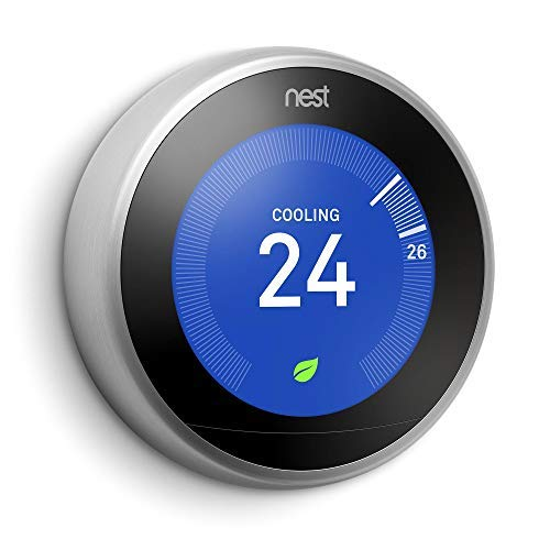 Nest Learning termostato, 3rd Generation, Works with Amazon Alexa (versión US, importée)