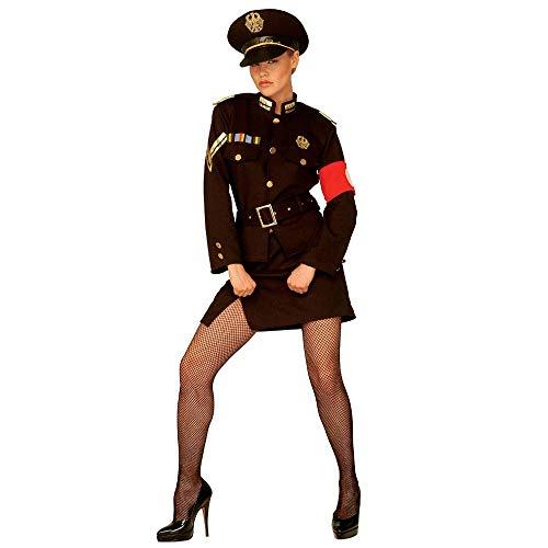 Widmann 44293 Erwachsenenkostüm Uniform Marlene, 42
