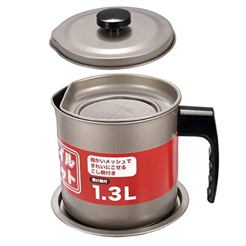 1 pc Engrasador de Grasa Almacenamiento de Aceite de Cocina Utensillos de Cocinas - Como se describe 1.3L