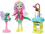 Enchantimals Vamos al dentista, muñeca Andie Alligator con mascota y accesorios...