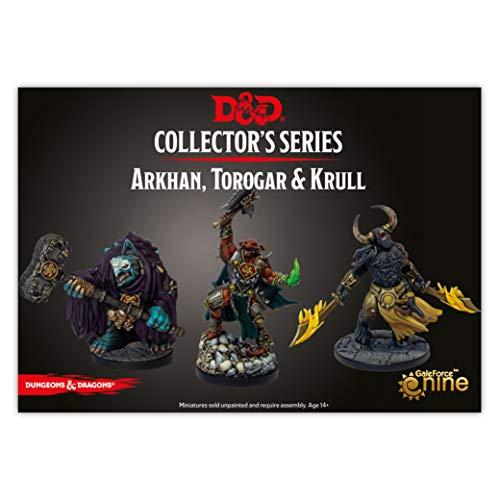 GaleForce nine Dungeons & Dragons Descent into Avernus - Arkhan, Torogar & Krull (3 figs)