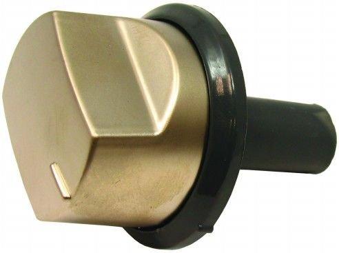 véritable Hotpoint Four Black & Argent bouton de commande C00225121