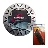 Kit freno anteriore disco Grimeca pastiglie SBS Silver Wing 400 600