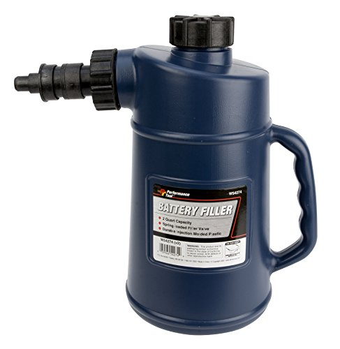 Why Choose Performance Tool W54274 Battery Filler (2QT) With Auto Shut Off  ideal for RV Batteries, ...