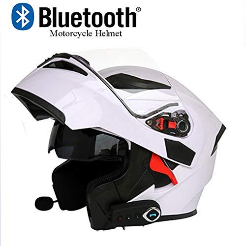 classement un comparer Moto Bluetooth Modulaire double pare-soleil EDW à l'avant du casque de moto…