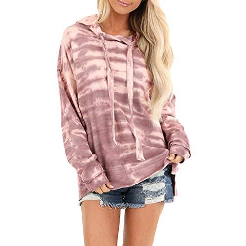 Felpe Corte Tumblr Ragazza Donna Rainbow,Ragazza Sweatshirt Elegante Pullover Autunno Manica Lunga Crop Top Maglietta Cotone Camicette T-Shirt Yoga Fitness Calcio Sportiva