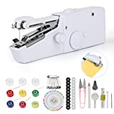 Apsung Handheld Sewing Machine, Portable Cordless Mini Handy Sewing Machine, Quick Repairing Handy
