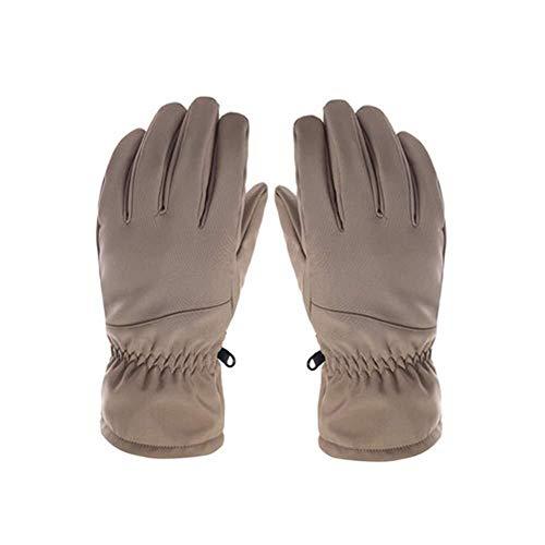 HIAO Fäustlinge Handschuhe Ski Herren Damen Winter Warme Handschuhe Wasserdicht Winddicht Thermo Snowboard-Handschuhe Anti Slip Cold Weather Handschuhe Unisex Zubehör Warm Winter Im Freien