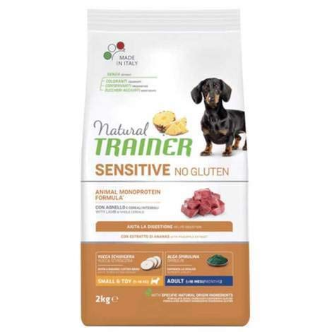 Trainer Natural Sensitive No Gluten Small & Toy Adult con Salmone 2 kg
