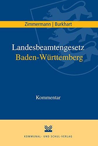 Landesbeamtengesetz Baden-Württemberg: Kommentar