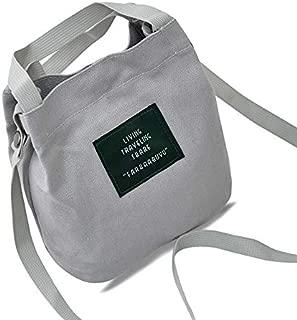 Docooler Women Canvas Totes Shoulder Pack Preppy Style Girls Handbag Crossbody Messenger Pack
