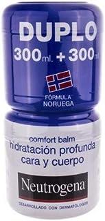 Neutrogena Bálsamo Hidratación Profunda Para Cara Y Cuerpo - 2 Unidades x 300 ml.