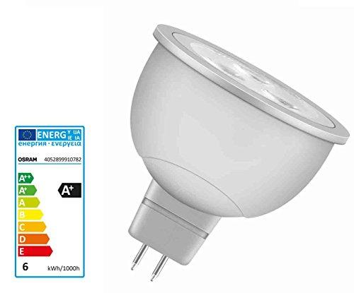 Osram Parathom MR16 Reflektor LED PMR163536 5,6 Watt GU5.3 827 warmton extra Reflektorlampe Ersatz für 35 Watt