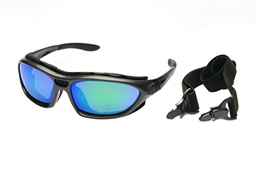 Alpland Schutzbrille Bergbrille Gletscherbrille Sport Sonnenbrille Kitesurfbrille Skibrille