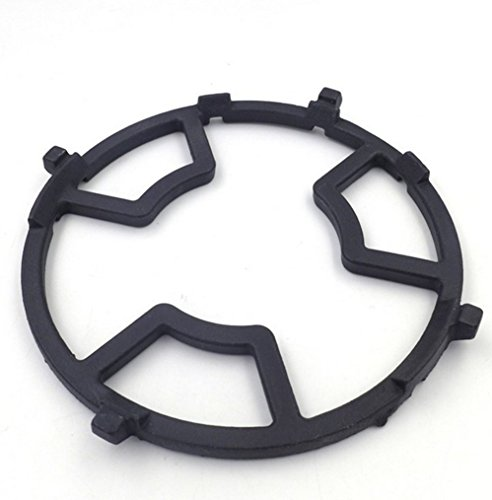 Non Slip Black Cast Iron Stove Trivets for Kitchen Wok Support Ring Cooktop Range Pan Holder Stand Stove Rack Milk Pot Holder for Gas Hob - Gas Stove accessories