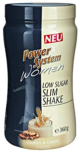 Power System Women LOWer Carb Protein Shake (Cookie & Cream - 360 g)