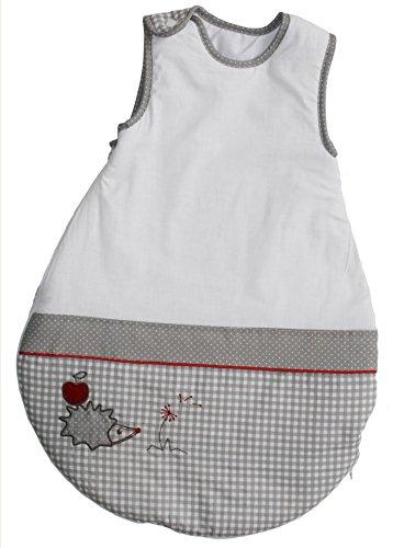 roba Schlafsack, 70cm, Babyschlafsack ganzjahres/ganzjährig, aus atmungsaktiver Baumwolle, Kollektion 'Adam & Eule'