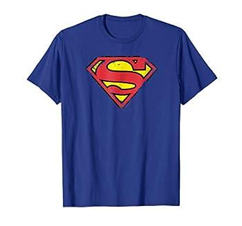 Superman Distressed Shield T-Shirt