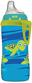 NUK Active Sippy Cup, Blue Turtle, 10oz 1pk