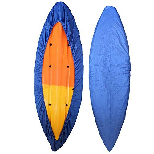 Alumuk Bootsplane Persenning Wasserdicht Universell Kajak Kanu Boot Abdeckplane - unterschiedliche Größe Auswählbar (Geeignet für 3,6-4m Kajak, Blau)