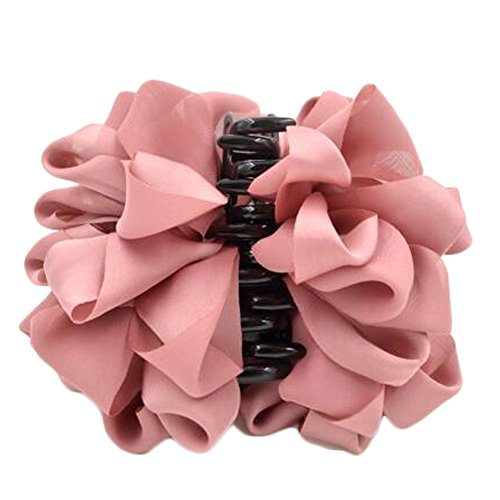 Mesdames Belle Claw Clip cheveux Décor Clips Accessoires cheveux, Rose