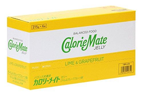 大塚製薬 カロリーメイト ゼリー ライム&グレープフルーツ味 215g×6袋の画像