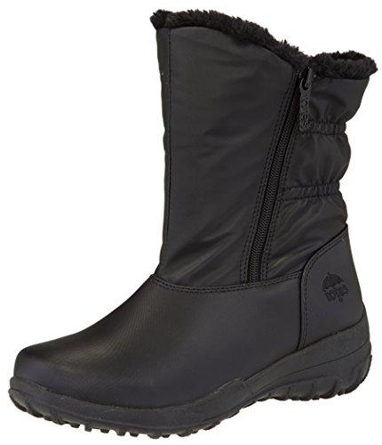 totes Women's Marie Waterproof Winter Snow Boot, Black, 10