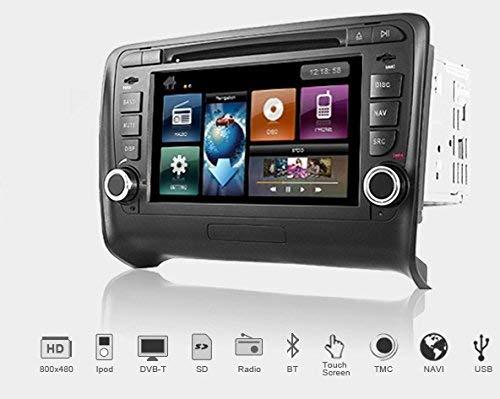 Dynavin DVN-TT Multimedia Navigation N6 Plattform für Audi TT (8J) 2006-> + Navigationssoftware