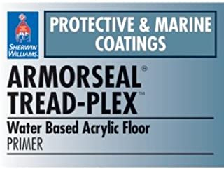 ArmorSeal Tread-Plex Water Based Coating, Haze Gray, 1-Gallon