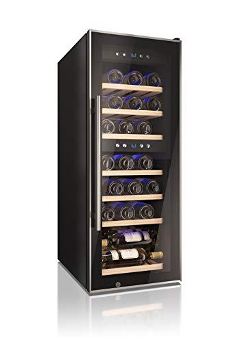 Cantinetta Vino Datron, Adatta a 38 Bottiglie, per libera installazione, a doppia temperatura